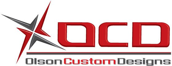 olson custom designs cnc machine shop logo