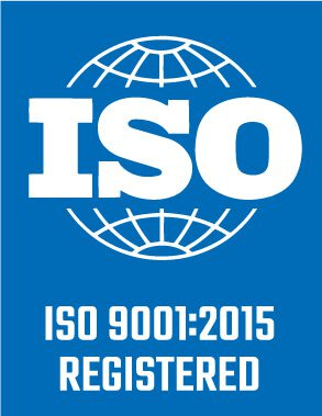ISO 9001 2015 Registered logo
