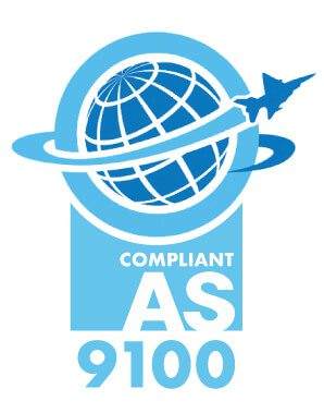 compliant AS 9100 logo