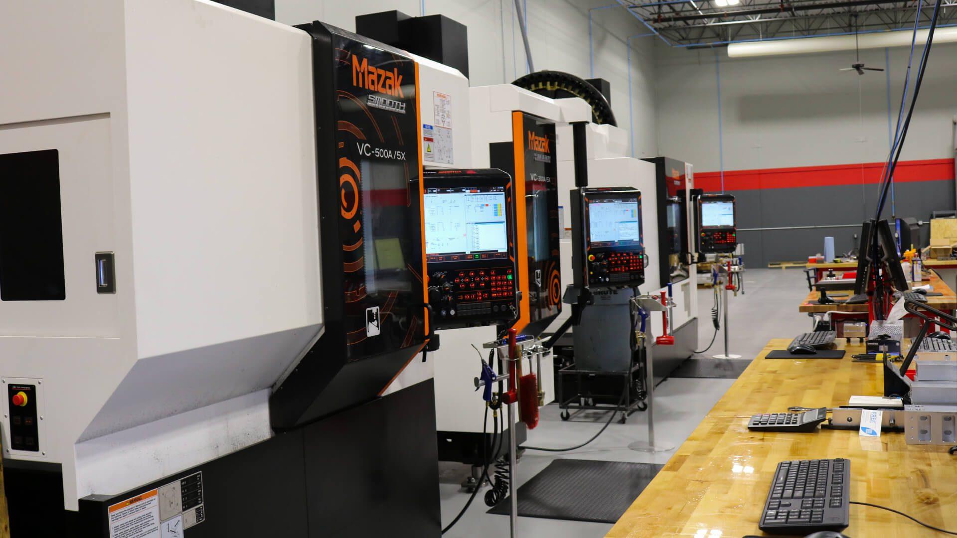 CNC machine shop in Indianapolis